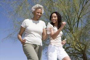 Elderly Care Huntington NY - Helping Seniors with Regular Exercises